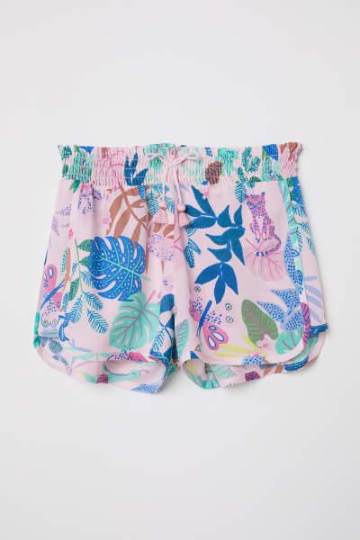 Short Viscose Shorts