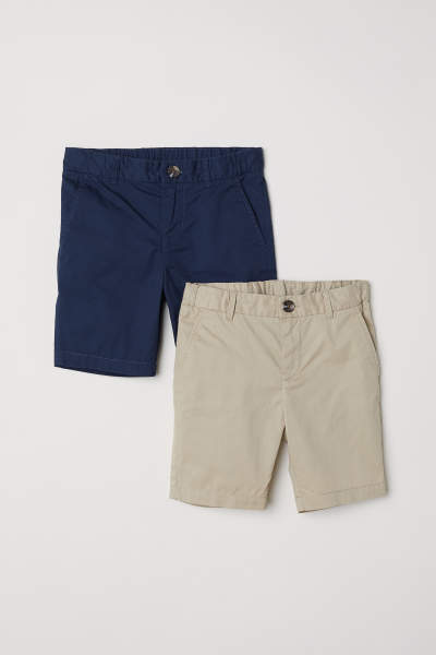 2-pack Chino Shorts