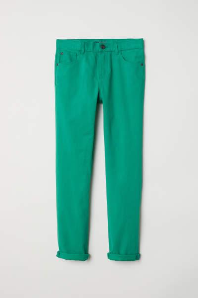 Twill Pants Regular fit