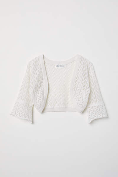 Loose-knit Bolero
