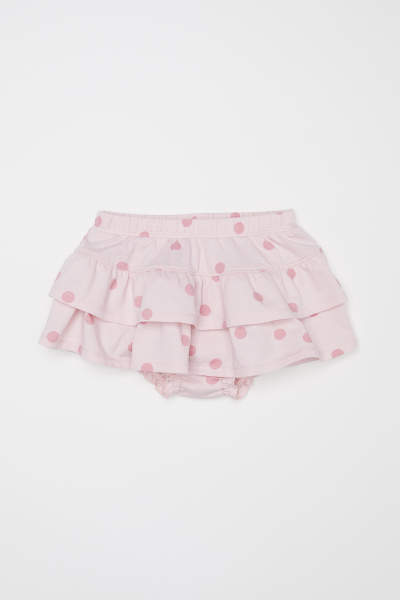 Jersey Tiered Skirt