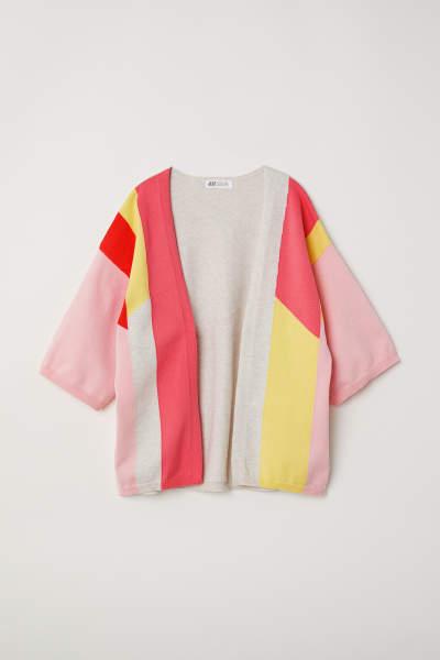 Fine-knit Kimono