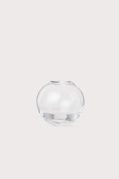 Mini Vase in Clear Glass