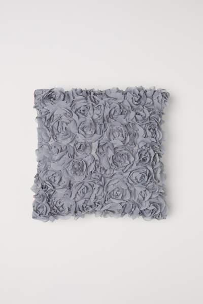 Chiffon Flower Cushion Cover