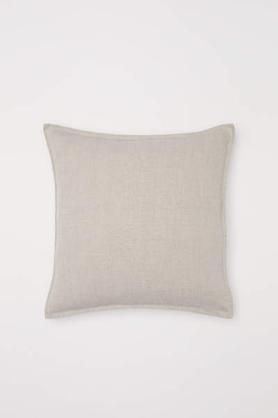 Washed Linen Cushion Cover