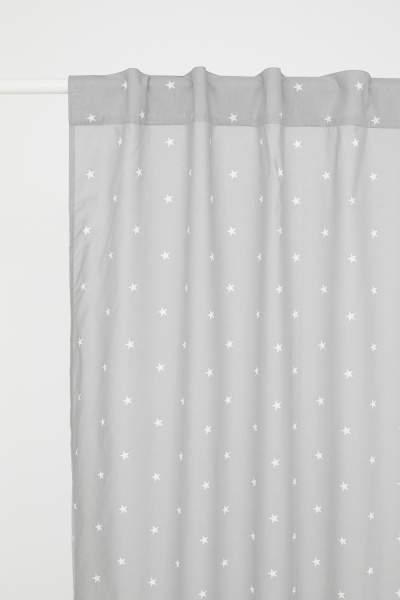 Patterned Curtain Panel