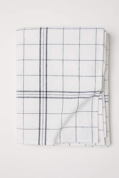 Linen-blend Tablecloth
