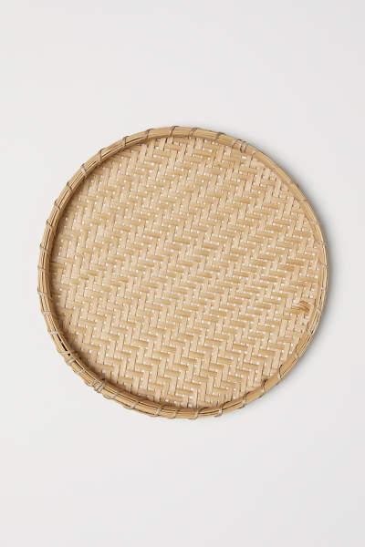 Braided Bamboo Tray
