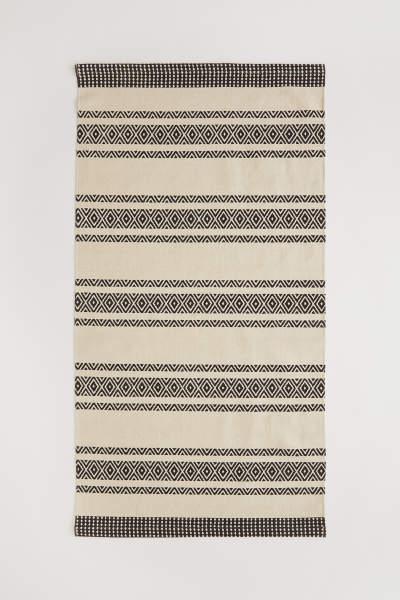 Patterned Cotton Rug