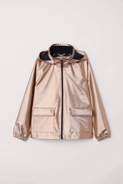 Shimmering Rain Jacket