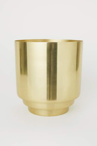 Large Metal Plant Pot