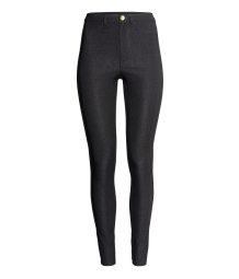 slim fit pants black women h m us. Black Bedroom Furniture Sets. Home Design Ideas