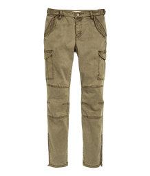 Creative Khaki Cargo Pants Women Casual Pants Multi Pocket Pants Overalls