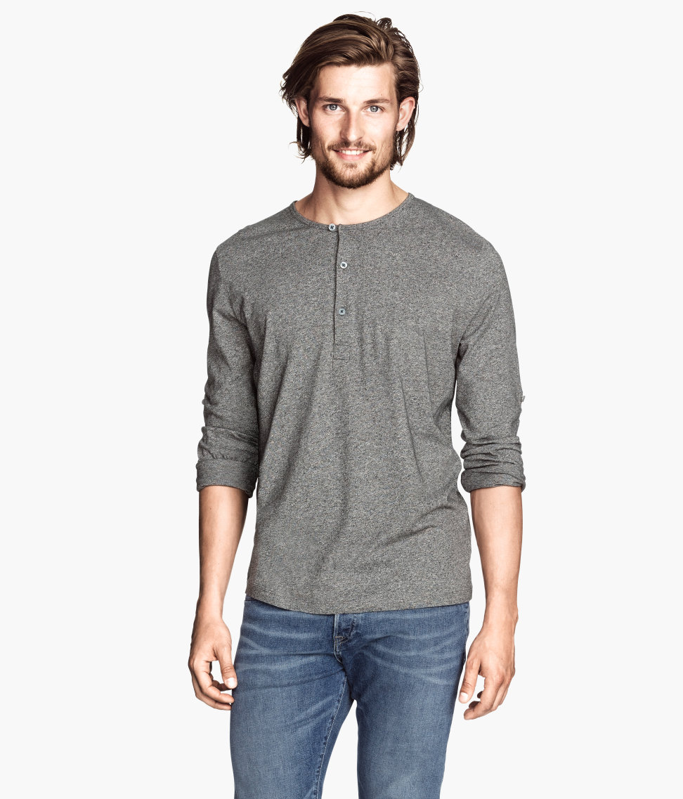Shop online for Men's Henley Long Sleeve & T-Shirts at hereaupy06.gq Find cotton, linen & knit blends. Free Shipping. Free Returns. All the time.