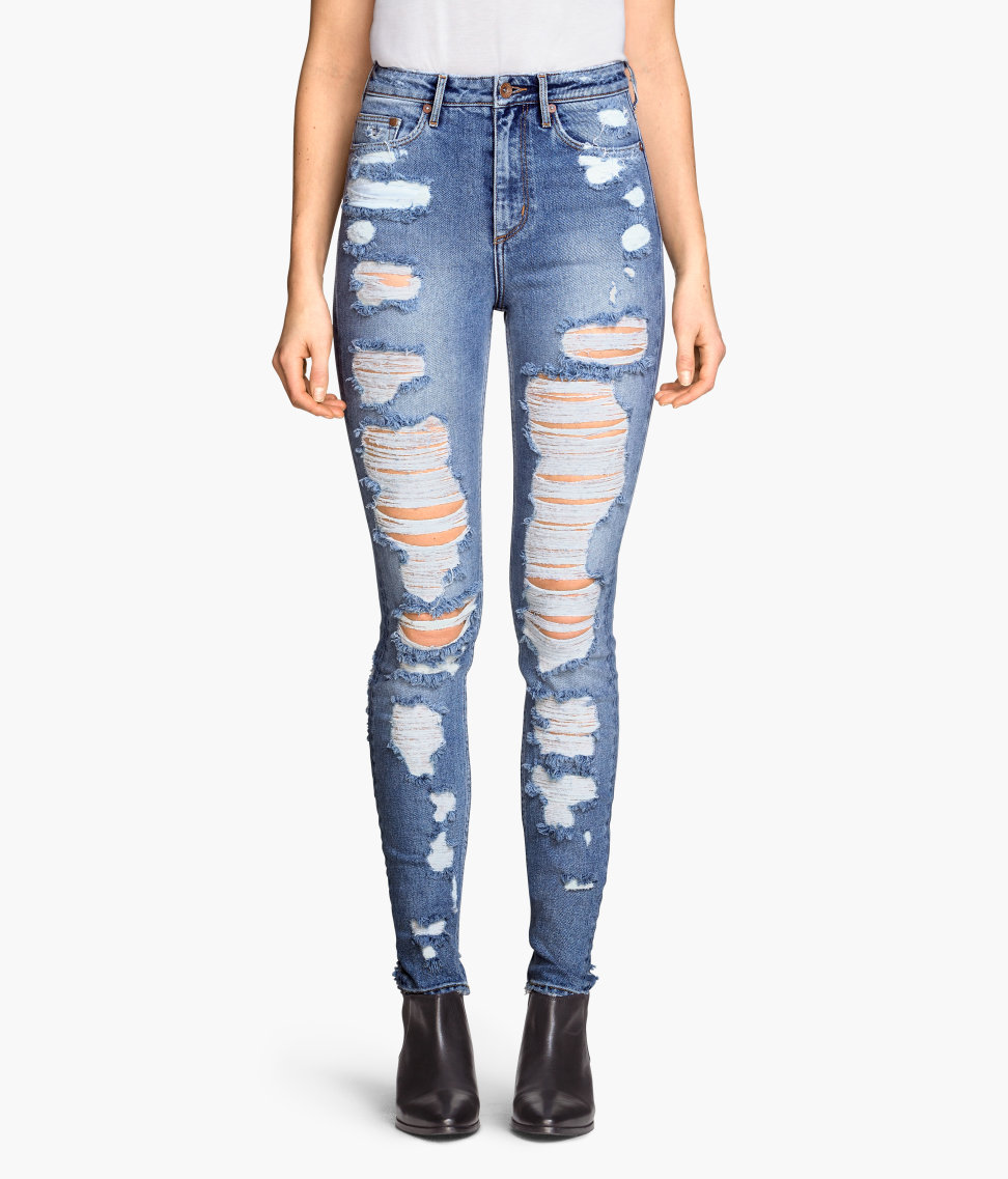 Skinny High Jeans | Light denim blue | Women | H&M US