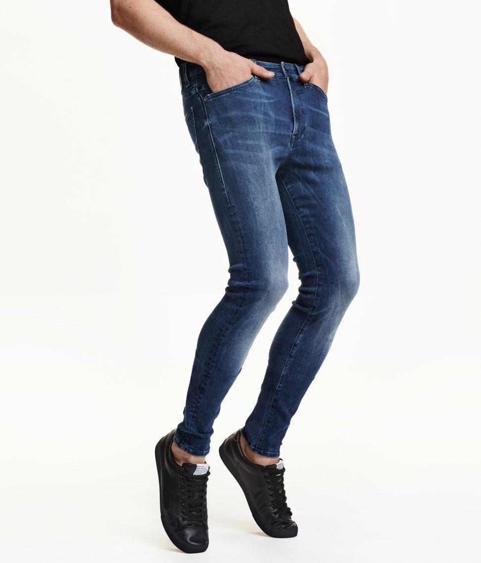 360 Tech Stretch Skinny Jeans | Denim blue | Men | H&M US