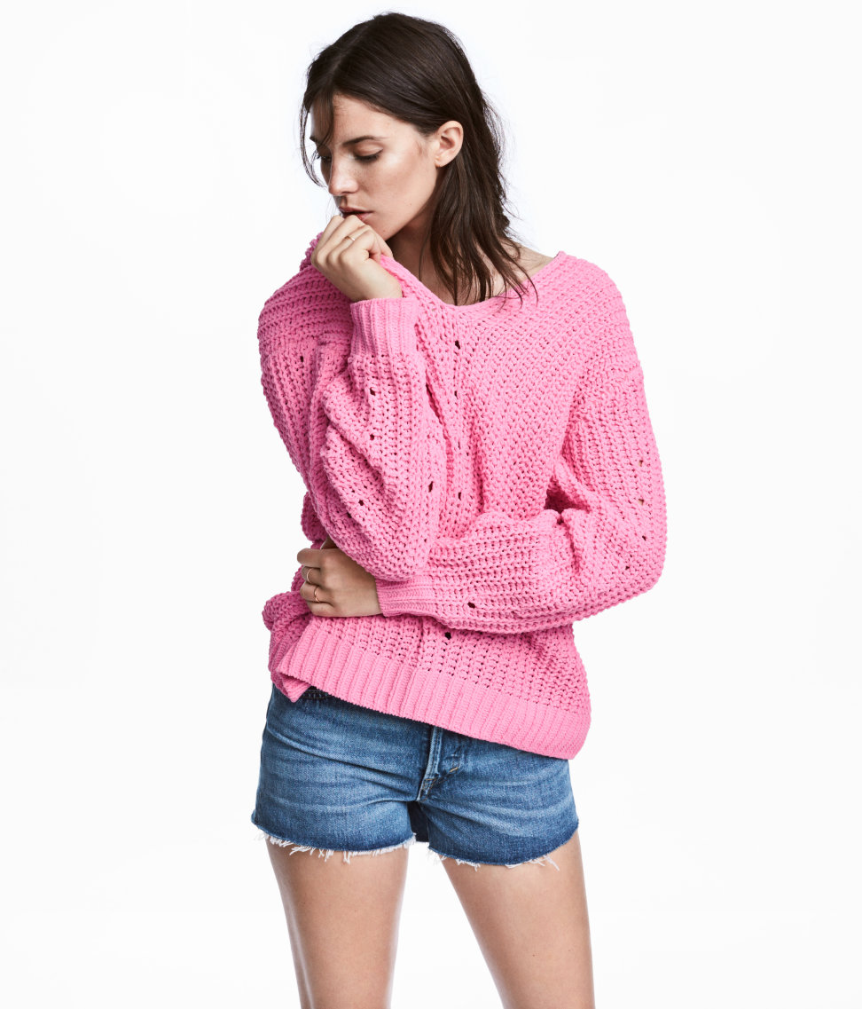 Oversized Sweater | Pink | WOMEN | H&M US