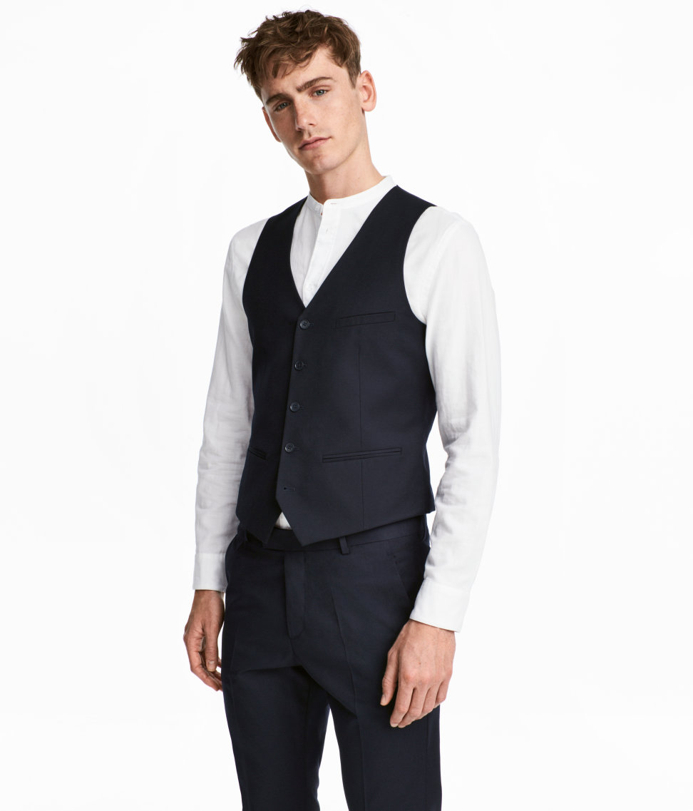 Suit Vest | Dark blue | SALE | H&M US