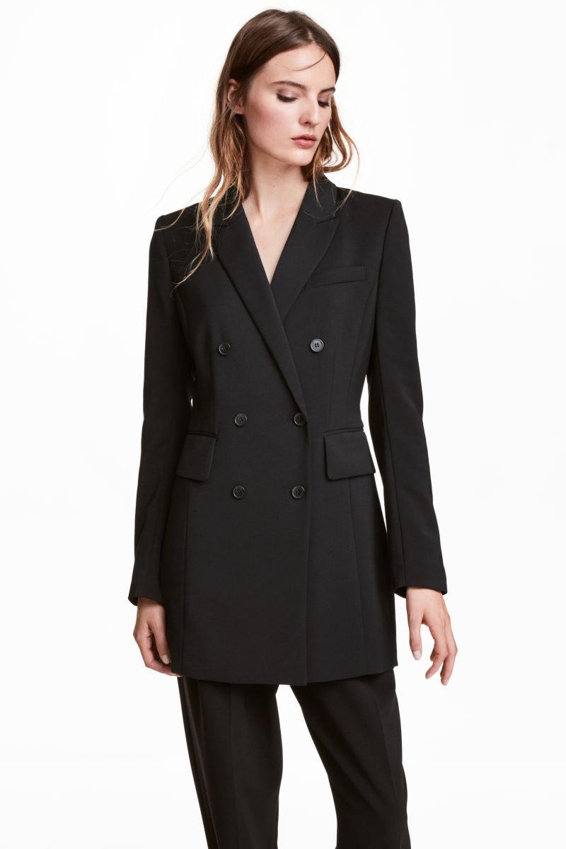 Long Jacket   Black   WOMEN   H&M US