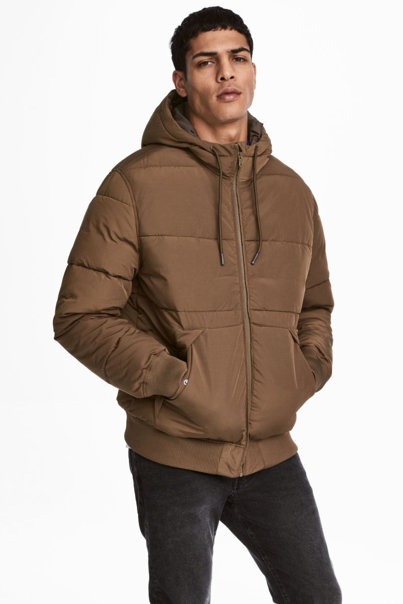 Padded Jacket | Khaki brown | SALE | H&M US