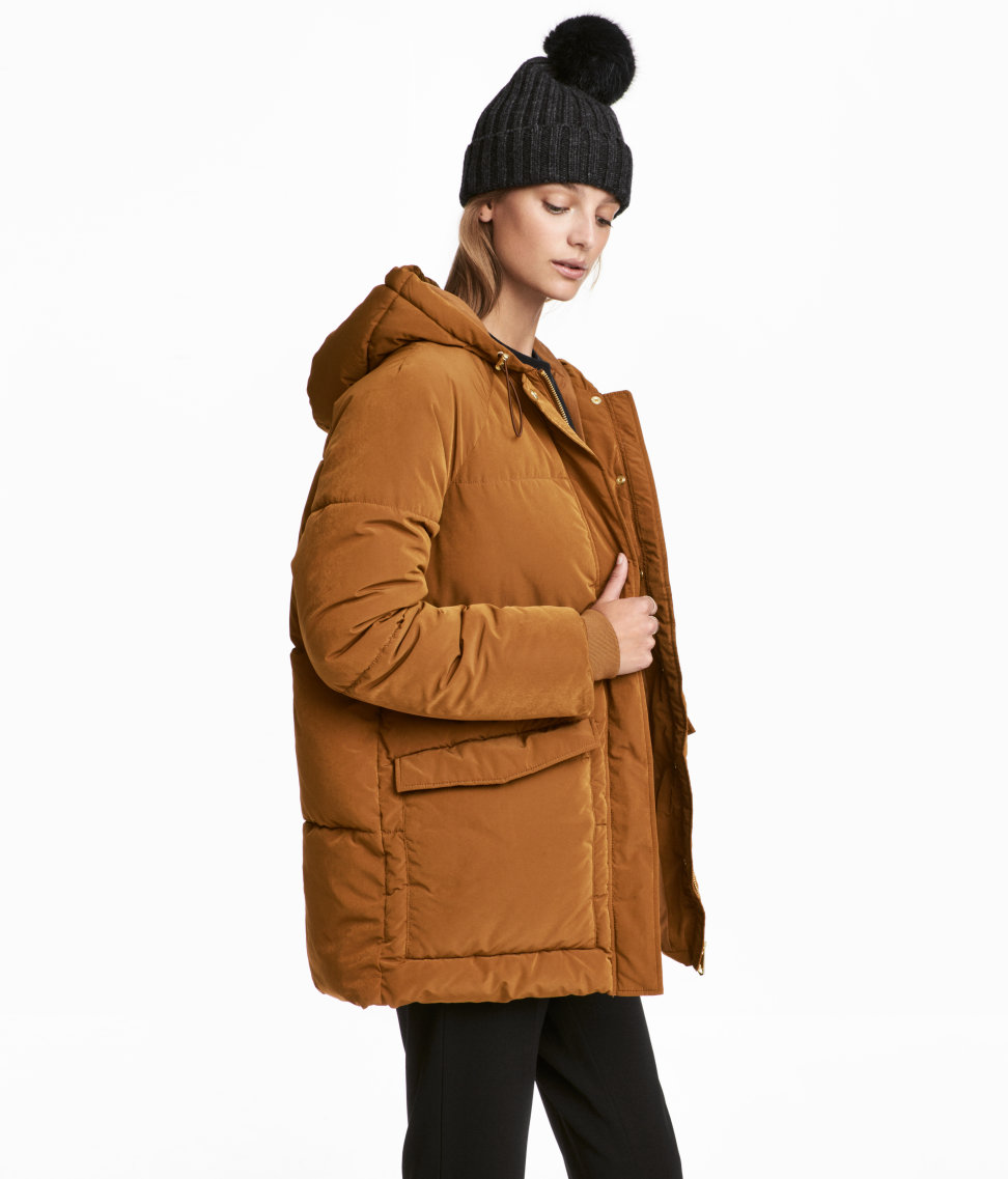 Padded Parka | Red | SALE | H&M US