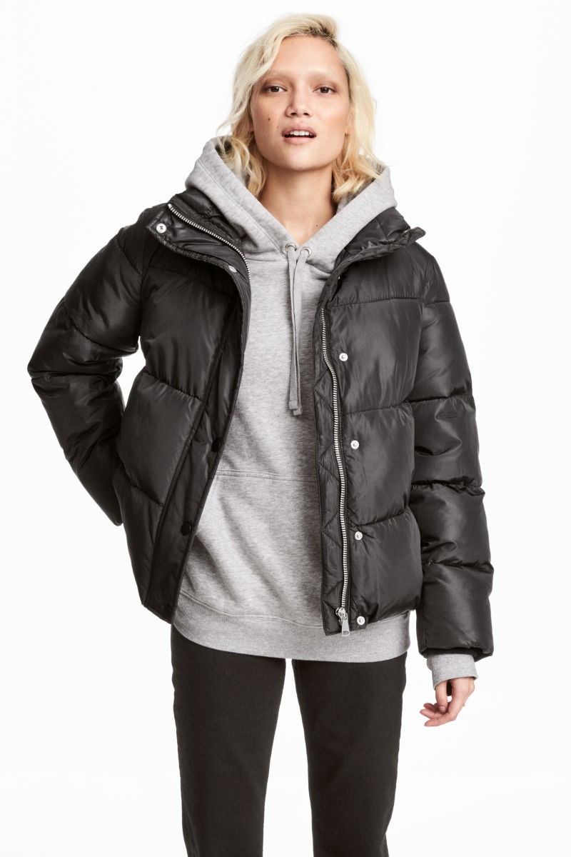 Padded Jacket | Black | WOMEN | H&M US