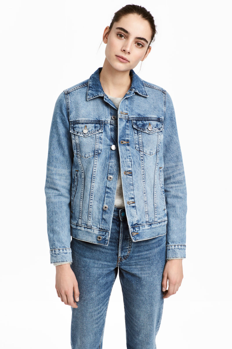 Denim Jacket | Light denim blue | WOMEN | H&M US