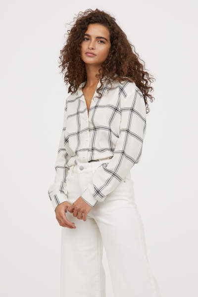 Shirts & blouses - Women's Clothing - Shop online | H&M US