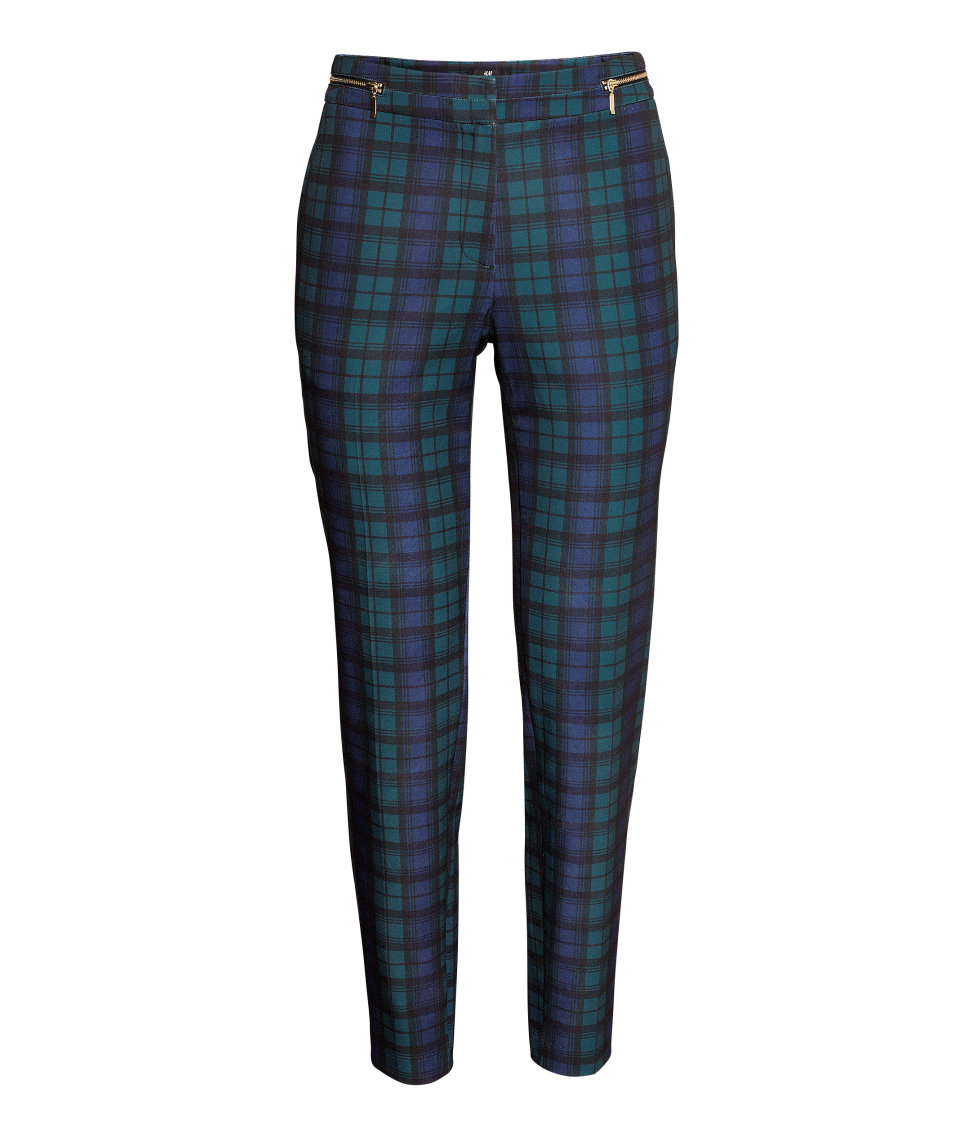 Slacks | Checked | Women | H&M US