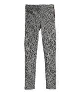 Patterned Slim-fit Pants