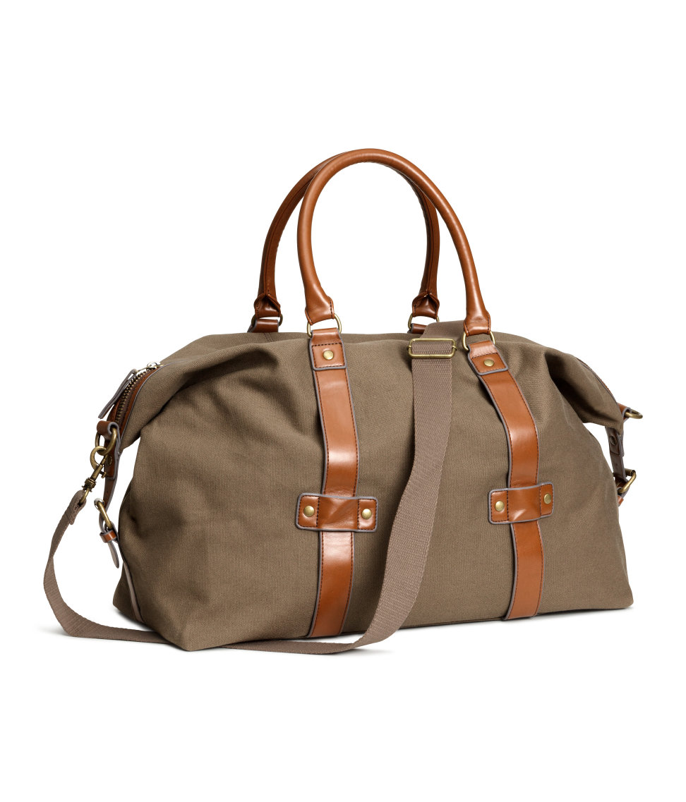 Weekend Bag | Dark beige | Men | H&M US