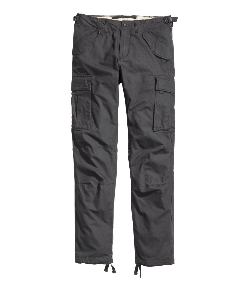 Cargo Pants | Dark gray | Men | H&M US