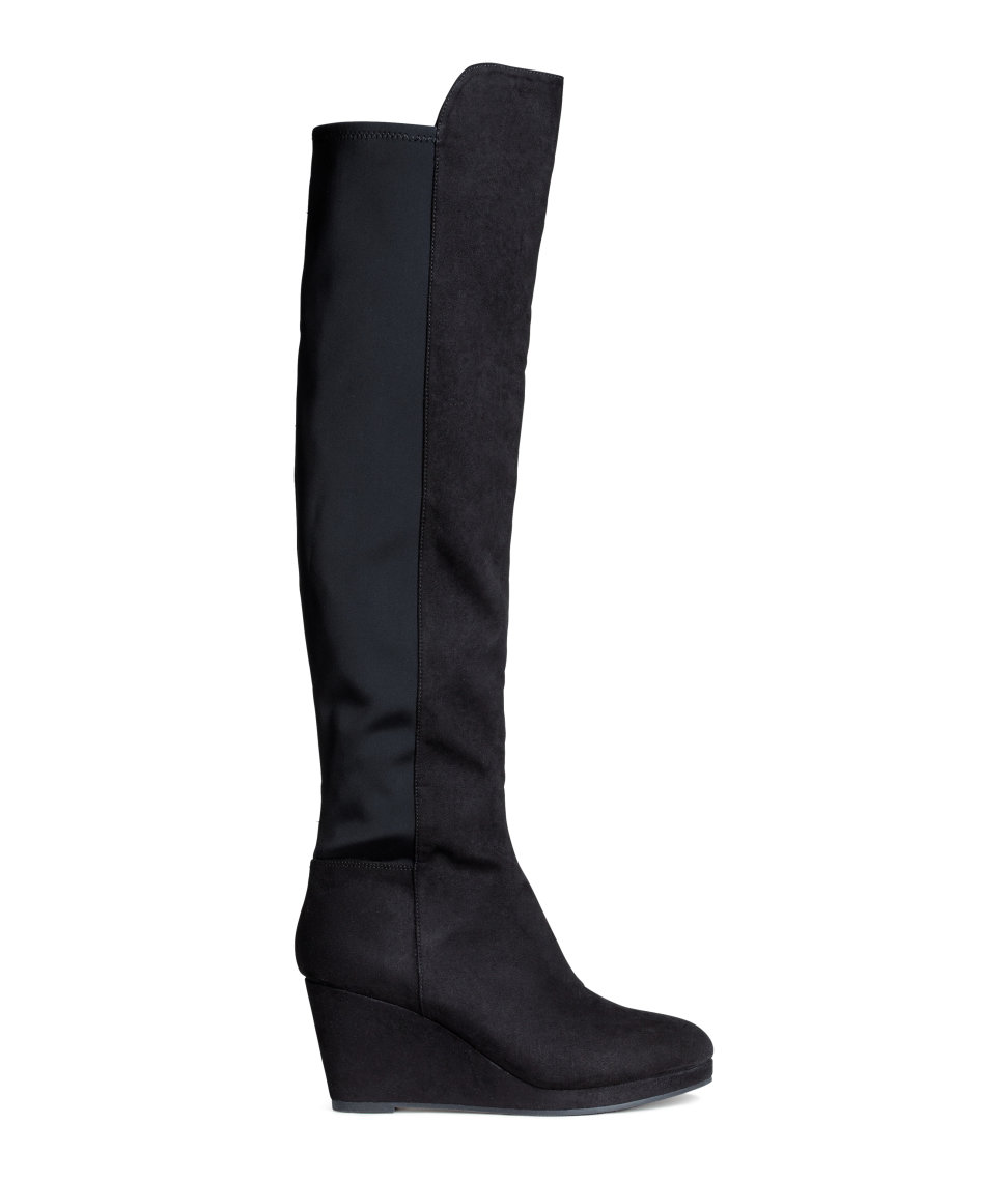 Wedge-heel Boots | Black | Women | H&M US