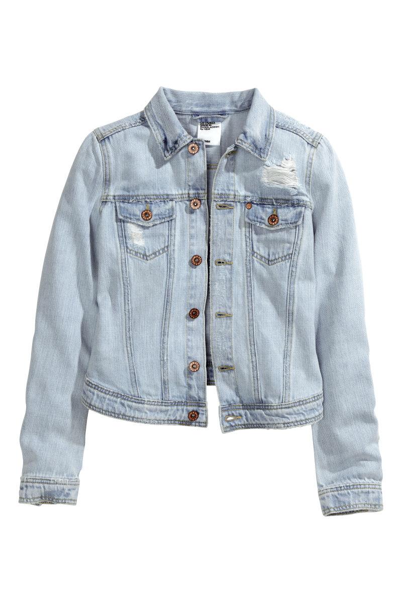 Denim Jacket Blue Varsity Apparel Jackets