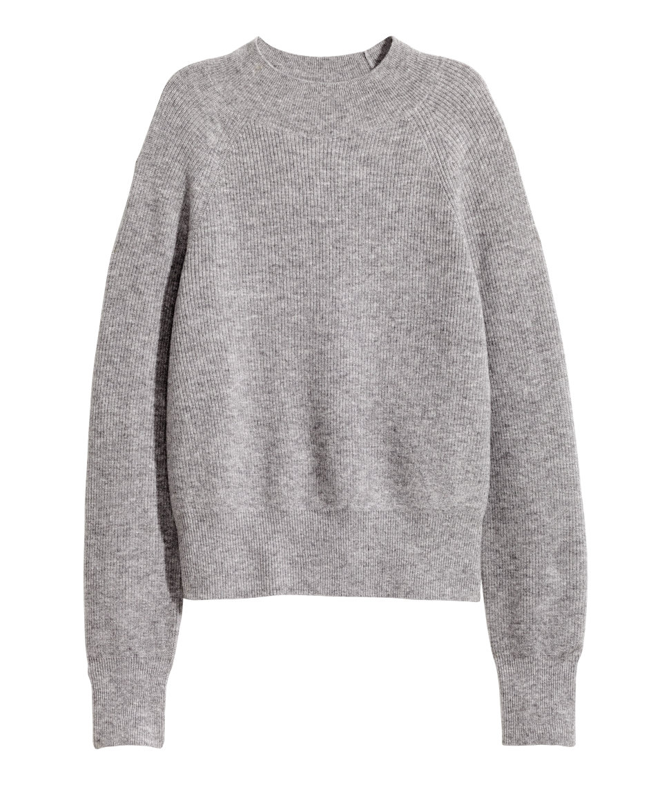 Cashmere Sweater | Gray melange | SALE | H&M US