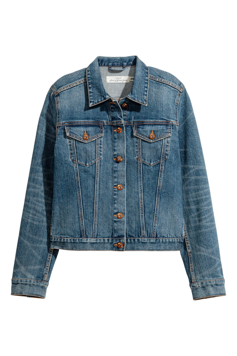 Denim Jacket | Dark denim blue | SALE | H&M US