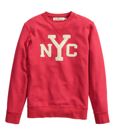H&M -  Sweatshirt with Motif