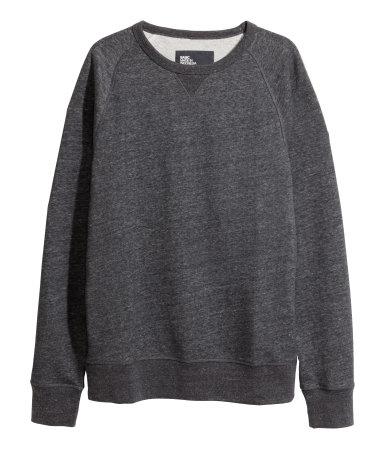 H&M - Melange Sweatshirt