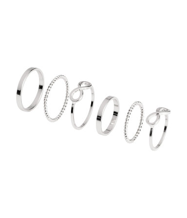 H&M 6-pack Rings