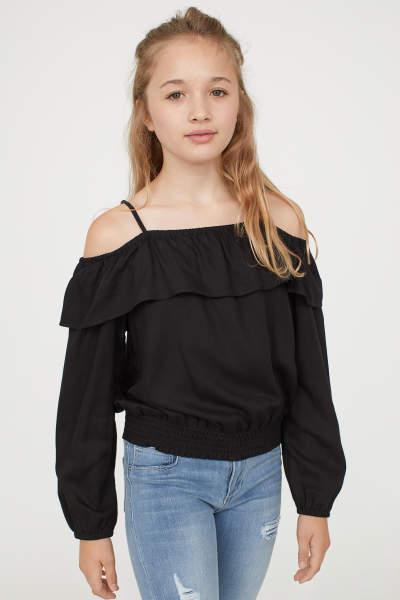 Hemden & Blusen - Kinder - Mädchen Gr. 134–170 - Online shoppen   H&M DE