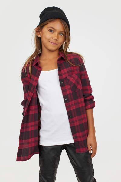 Hemden & Blusen - Kinder - Mädchen Gr. 134–170 - Online shoppen | H&M DE