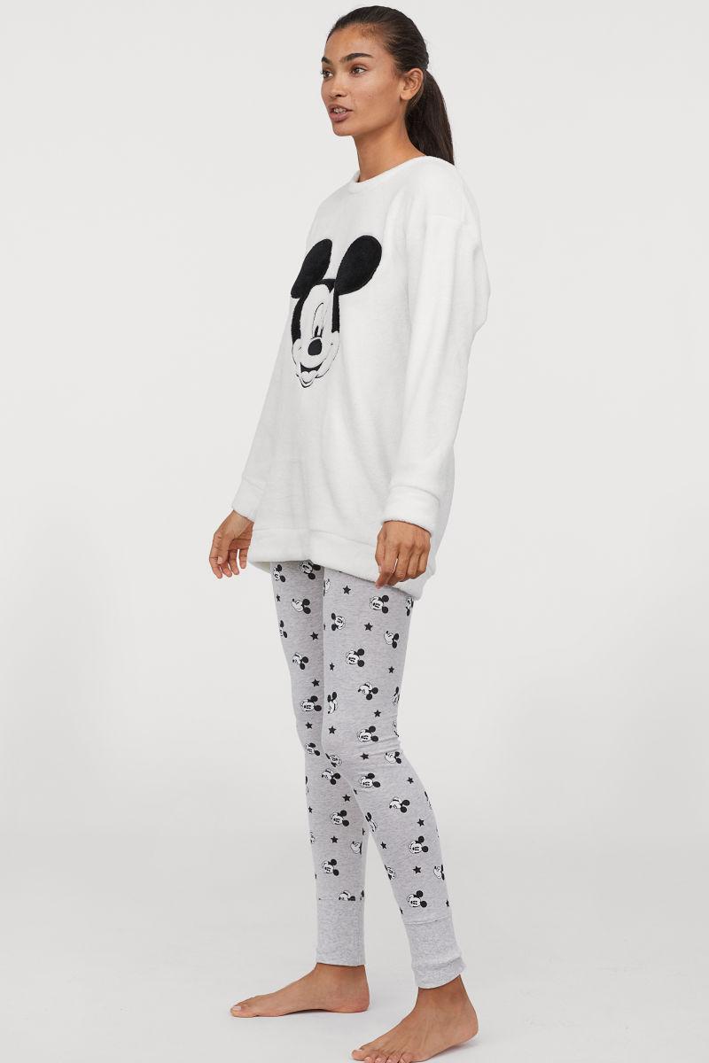 Harga Long Hem Denim Mickey Terbaru 2018 Samsung Galaxy J5 2016 Garansi Resmi 1 Tahun Sein Bundling Tau Telkomsel Free Jam Dinding Pyjama Top And Leggings White Mouse Ladies Hm Ge