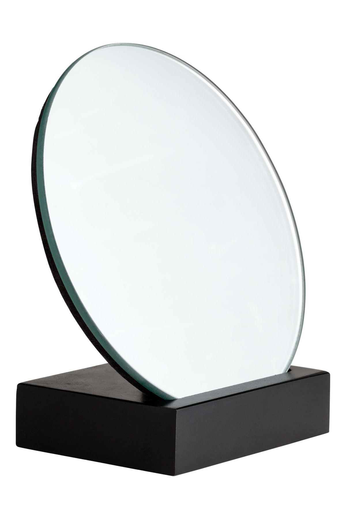 Runder Spiegel   Schwarz   H&M HOME   H&M DE