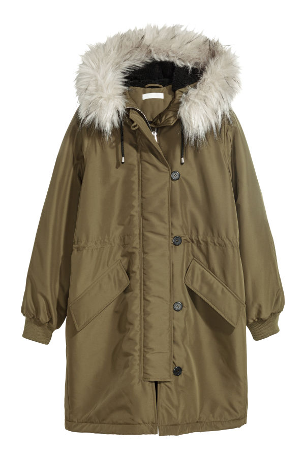 H&M Padded Womens Parka