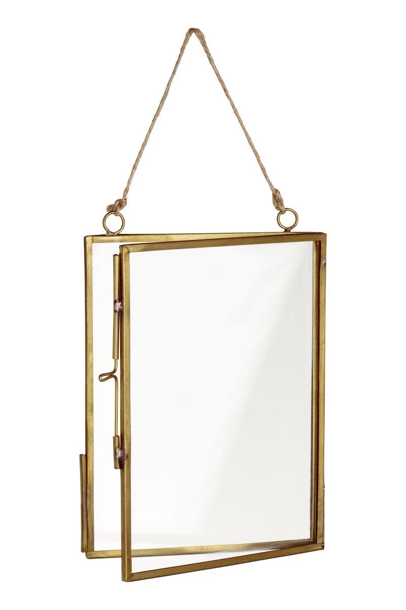 Fotorahmen aus Metall | Goldfarben | H&M HOME | H&M DE