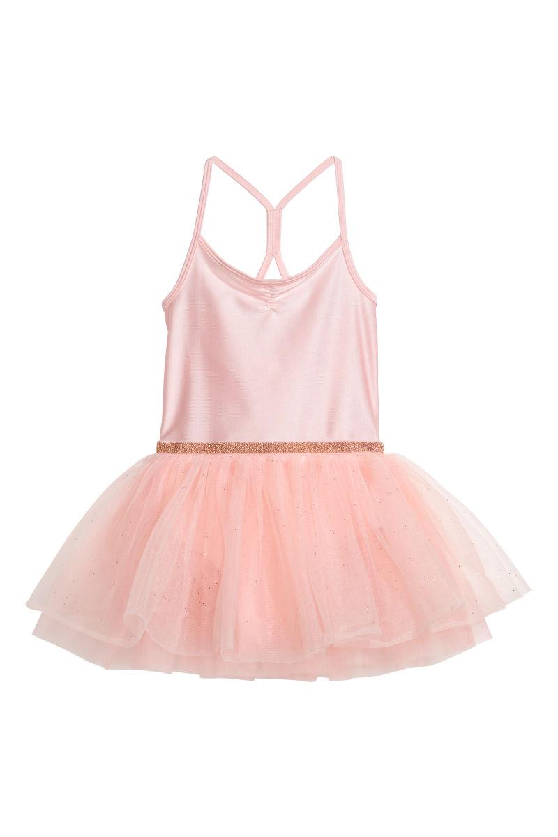 Ballettkleid Mit Tullrock Puderrosa Sale H M De