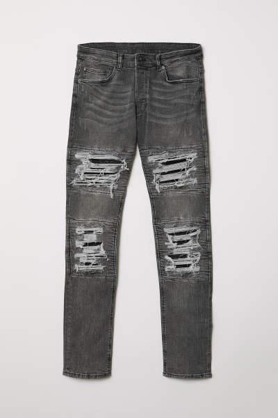 Trashed Skinny Jeans
