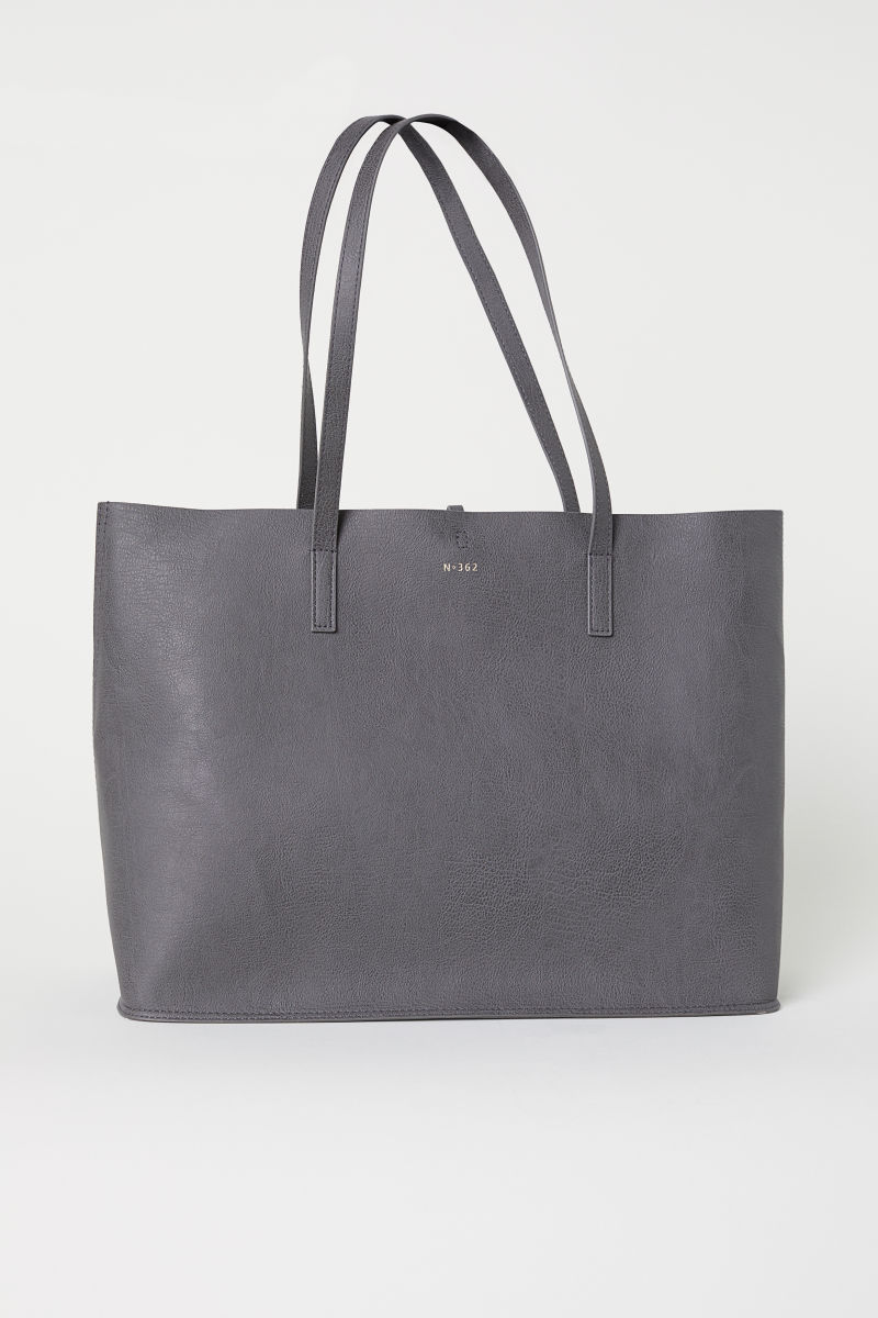 Wendbarer Shopper   Grau   DAMEN   H&M DE